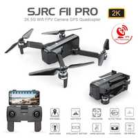 SJRC F11 PRO GPS Drone avec Wifi FPV 1080 P/2 K HD caméra F11 sans brosse quadrirotor 25 minutes temps de vol pliable Dron Vs SG906