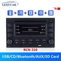 LEXUCAR Bluetooth RCN210 Radio de coche reproductor de CD USB MP3 AUX RCN 210 9N 31G 035 185 para VW Golf jetta MK4 Passat B5 Polo 9N