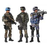Figura de soldado de 30 CM, figuras de acción de soldados chinos a escala 1/6, figuras de soldados del ejército militar, juguetes para hombres, muñecas articuladas, juguetes para niños, regalo de cumpleaños