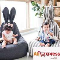 Bébé pouf chaise Infantil haricot sac enfants canapé bébé Sillas canapé siège chaise meubles de maison salon canapé paresseux chaise fauteuil