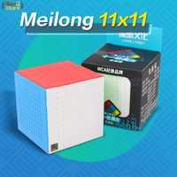 Moyu Meilong 10x10 Cube vitesse Magic11x11x11 10x10 Cube Puzzle Magico Cubo 11x11 Cube professionnel sans colle pour enfants jouets