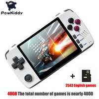 Powkiddy q80 rétro Console de jeu vidéo combiné 3.5