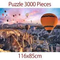 Puzzle 3000 pièces turc ballon à Air chaud plus épais paysage Puzzle jouets éducatifs pour adultes enfants enfants jeu jouets