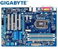 Carte Mère de bureau LGA 1155 Pour Intel DDR3 Gigabyte GA-P75-D3 Carte Mère D'origine USB2.0 USB3.0 SATA3 P75-D3 32 GO B75 22nm