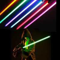 Jouet sabre laser Star Wars réplique Jedi Sith dark vador Rey Yoda sabre lumineux épée avec son Original Starwars Cosplay jouet