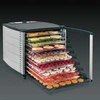 Secador comercial de frutas y alimentos de 10 capas, gran máquina seca de acero inoxidable, deshidratador eléctrico de verduras seguro, dispositivo secador de aire de 220v