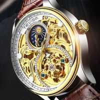 Reloj mecánico automático Tevise para hombre, reloj de pulsera deportivo de marca superior para hombre