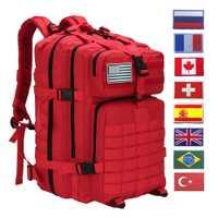 50L militaire tactique sac à dos Crossfit gymnase Fitness sac homme en plein air randonnée Camping voyage sac à dos Trekking armée Molle sac à dos