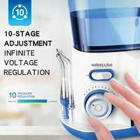 Waterpulse V300G irrigador Oral 5 uds. Puntas Dental hilo Dental eléctrico 800ml higiene Oral hilo Dental V300