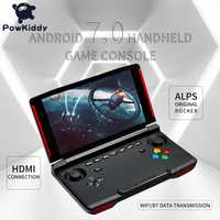 Powkiddy X18 android console de jeu portable 5.5 pouces 1280*720 écran MTK 8163 quad core 2G RAM 32G ROM lecteur de jeu vidéo portable