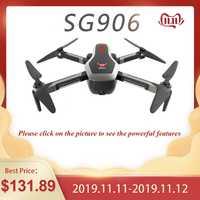 ZLL 2019 SG906 double GPS Drone 5G WIFI FPV avec Selfie pliable 4K HD caméra RC Drone pliable quadrirotor 800m longue Distance