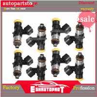 8 Uds. 0280158821 inyector de combustible para gasolina metanol 210lb 1300cc boquilla de flujo de alta impedancia inyección coches modificados combinados