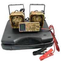 ABLB-chasse leurre Mp3 oiseau appelant sons lecteur intégré 200 oiseau voix chasse leurre 2 joueurs 50W Animal appelant pour la chasse