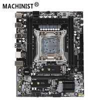 MACHINIST X99 carte mère de bureau LGA 2011-3 LGA2011 avec double fente M.2 NVME prend en charge quatre canaux DDR4 ECC SATA3.0 USB3.0