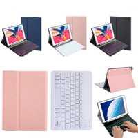 Clavier US rétro-éclairé étui pour iPad Air 3 iPad Pro 10.5 (2017) étui pour tablette avec porte-stylo clavier Bluetooth Coque de tablette en cuir