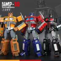 32cm YX MP10 MPP10 Metal parte modelo G1 transformación Robot juguete aleación mmp10 Commander Diecast colección figura de acción niños regalo