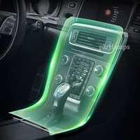Películas interiores del coche para Volvo V60 panel de control de la manija de la puerta TPU películas decoración pegatinas accesorios de automóviles