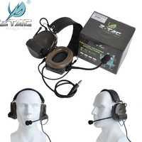 Casque tactique z-tac Peltor Comtac II sans suppression de bruit casque tactique militaire de Communication Airsoft pour talkie-walkie