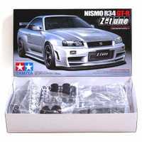 Tamiya 24282 Kits de montaje de coches modelo 1/24 escala Nismo Skyline GTR R34 z-tune juguetes para niños y adultos