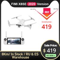 FIMI X8SE 2020 Version caméra drone 8KM FPV 3 axes cardan 4K caméra HDR vidéo GPS 35 minutes temps de vol RC quadrirotor RTF 1 batterie