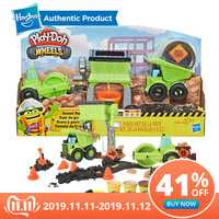 Hasbro play-doh roule le jouet de Construction de cour de gravier avec le composé Non-toxique de Construction de chaussée de Doh de jeu Plus 3 couleurs supplémentaires
