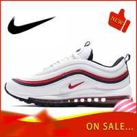 Original authentique Nike Air Max 97 LX chaussures de course pour hommes mode chaussures de sport de plein Air respirant confort 2019 nouveau 921733-102