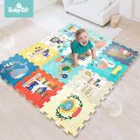 BabyGo PE tapis de jeu en mousse bébé épaissi insipide ramper Pad enfants enfants salon dessin animé antidérapant jeu tapis de sol