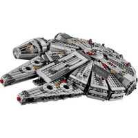 Estrella del milenio 79211 halcón cifras guerras bloques de construcción inofensivo ladrillos iluminar ajuste Compatible legoinglys juguetes de Star Wars