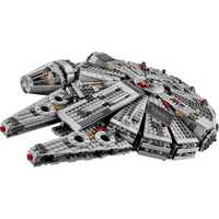 Star millénium 79211 figurines Falcon Wars blocs de construction briques inoffensives éclairer fit Compatible legoinglys Starwars jouets