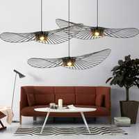 LED nordique Vertigo Suspension Lustre Suspension lampe Suspension moderne De cuisine Suspension De salon