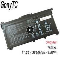 Original TF03XL batería de ordenador portátil para HP 14-bf 15-CC TPN-C131 HSTNN-LB7X HSTNN-LB7J HSTNN-UB7J HSTNN-IB7Y 920070-855, 920046-421