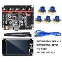 BIGTREETECH SKR V1.3 carte lisse 32Bit + TFT35 V2.0 écran tactile + BLtouch + TMC2130 spi TMC2208 UART pièces d'imprimante 3D vs MKS GEN L