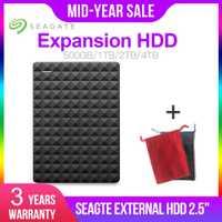 Seagate expansión HDD 1TB 2TB 4TB disco duro externo portátil USB 3,0 HDD 2,5