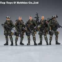 Escala 1:18 JOYTOY 81911041 10,5 cm PLA ejército contador unidad conjunto Modelo figura Juguetes