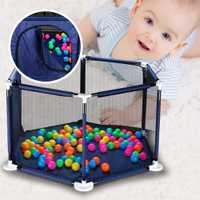 Bebé cerca de barrera de seguridad para 0-6 años de edad los niños Parque Infantil de la tela de Oxford juego tienda barrera para los bebés
