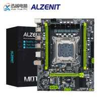 ALZENIT X79M-CE5 placa base Intel C602 X79 LGA 2011 Xeon E5 ECC REG DDR3 128GB M.2 NVME NGFF SATA3.0 USB3.0 Placa de servidor