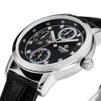 Reloj CASIMA de negocios para mujer, relojes de marca de lujo, reloj de pulsera de cuarzo para ocio, manos luminosas impermeables para mujer #5106