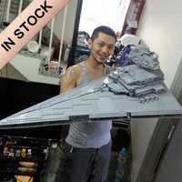 En Stock 05027 le destructeur étoile impérial UCS combattants 3250 pièces Star Movie Wars modèle blocs de construction compatibles avec 10030 jouets