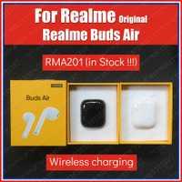 RMA201 contrôle tactile TWS Original Realme bourgeons Air vrai sans fil Bluetooth écouteurs casque double micro sans fil charge