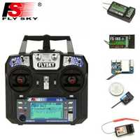 FLYSKY FS-i6 i6 2.4G 6CH AFHDS transmetteur avec iA6B X6B A8S R6B iA10B récepteur Radio contrôleur pour avion Drone RC FPV