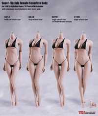 Phicen TBLeague 1/6 figura de cuerpo sin costura femenina S01A S04B S07C S10D Color pálido mujer MODELO DE figura de acción