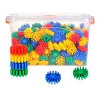 270 uds/180 Uds equipo redondo bloques de construcción divertido juego de construcción de lujo juguete de construcción juguete educativo regalo para niños chico adulto