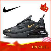 Original authentique Nike Air Max 270 chaussures de course pour hommes en plein Air baskets colorées léger respirant chaussures AH8050-007