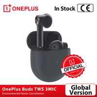 Version mondiale OnePlus bourgeons TWS sans fil Bluetooth 5 écouteurs 3Mic suppression de bruit environnemental pour Oneplus 7t 8 8Pro Nord