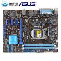 Asus P8H61-M LX Intel H61Original base de escritorio usada enchufe LGA 1155 Core i7/i5/i3/Pentium/ celeron DDR3 16G uATX