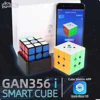 GAN356 i Cube de vitesse magique magnétique 3x3x3 GAN356i Station de Cube App GAN 356i aimants Cubes de compétition en ligne GAN 356