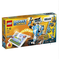 LEGO 17101 Boost 5-en-1 Robot Intelligent blocs de construction épissage jouets