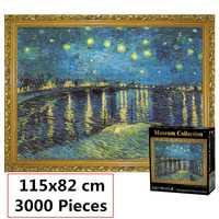 3 style puzzle 3000 pièces monde célèbre paysage puzzles pour adultes enfants jouets éducatifs jeu