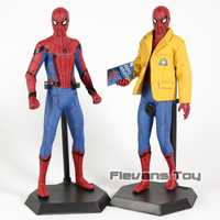 Juguetes locos Spider Man Homecoming Spiderman escala 1/6th PVC figura Figura coleccionable modelo de juguete
