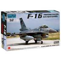 F-16 de combate avión Falcon modelo Turkish Air Force TUAF escala 1/144